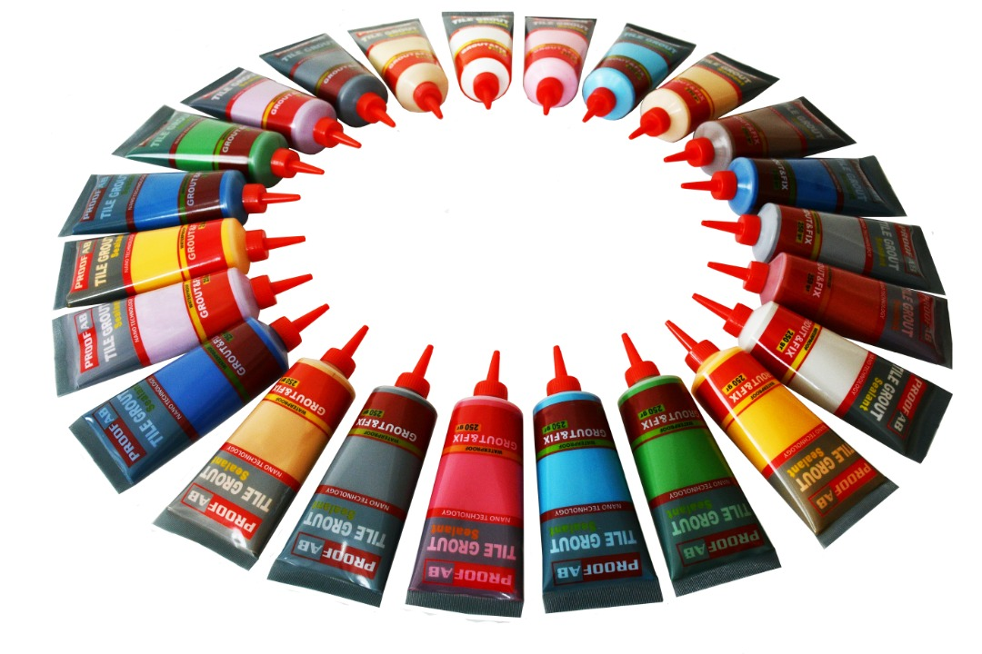 رنگ بندی خمیر بندکشی سرویس بهداشتی